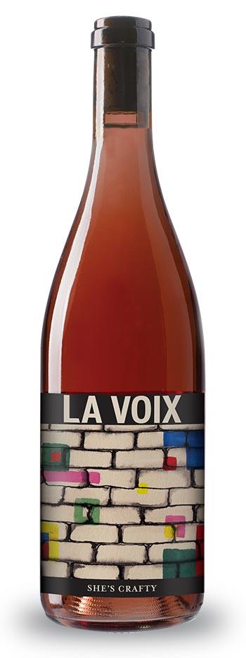 v.2014 SHE'S CRAFTY - Rosé of Pinot Noir - La Voix Winery